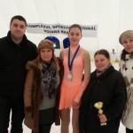O stea creşte într-un an cât alţii în 10! Ana Catană este vicecampioană naţională la patinaj artisti...
