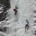 Buşteni, gazda unei etape de Cupă Mondială de escaladă pe gheaţă