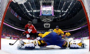 J.O. de la Soci / Canada a câştigat de o manieră entuziasmantă titlul olimpic la hochei pe gheaţă