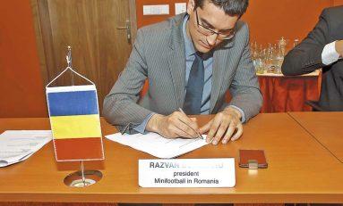 Răzvan Burleanu şi-a depus candidatura pentru funcţia de preşedinte al FRF