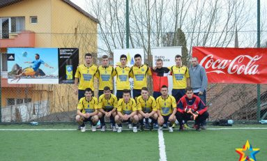 S-a încheiat prima etapă din Campionatul Universitar de Minifotbal