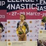 Cinci gimnaști români participă la Cupa Mondială de la Doha