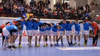 1.HANDBAL MASCULIN:HCM CONSTANTA-SVK HC SPORTA HLOHOVEC, CUPA EHF (9.02.2014)