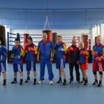 Lotul naţional de box feminin se antrenează, de Paşti, în Bulgaria