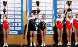 Membrii lotului național de gimnastică aerobică, printre cei mai buni din lume!