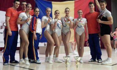 Gimnastică aerobică: Cinci medalii de aur şi două de bronz pentru sportivii români, la Borovets