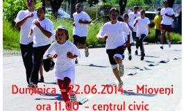 "La Mioveni se va organiza Crosul ""Ziua Olimpică"""