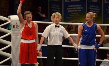 Simona Sitar, prima victorie la CE de box feminin