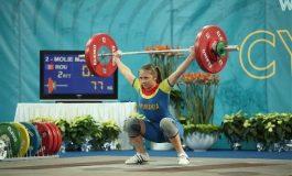Mădălina Bianca Molie, trei medalii la Mondialele de haltere pentru juniori