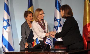 România şi Israel semnează un tratat de colaborare în domeniul sportului