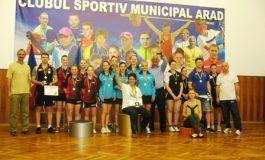 ACS Dumbrăviţa - campioana la tenis de masă pe echipe, la fete. Ultimele rezultate din C.N. pe echipe