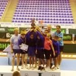 """Tenis de masă: CS Farul Constanţa, cel mai bun club al """"Paletei de Argint"""""""