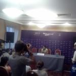 Niculescu şi Dinu, primele declaraţii după calificarea în turul II la BRD Bucharest Open