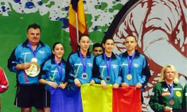 Aur pentru cadete, argint pentru cadeţi şi bronz pentru junioare, la Europene