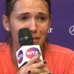 Raluca Olaru, în lacrimi după eliminarea din turneul de la Bucureşti