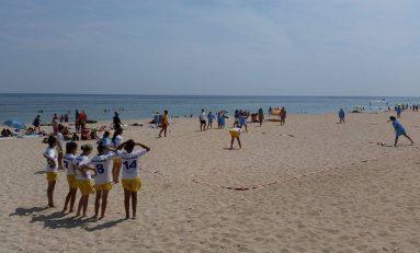 Rezultatele C.N. de oină pe plajă pentru junioare