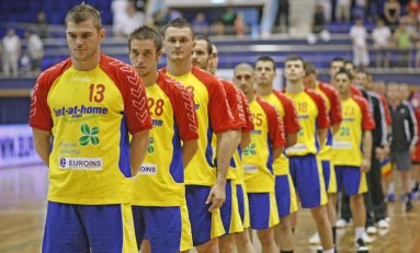 Dubla România-Italia la handbal masculin