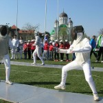 Noi acțiuni de promovare a scrimei în București