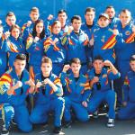 Lotul naţional de Kempo - campioni mondiali pe naţiuni, 2014
