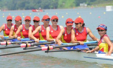 Doar locul 4 pentru echipajul feminin de 8+1 al României, la Mondialele de la Amsterdam