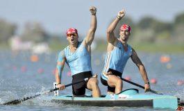 Suntem vicecampioni mondiali la canoe dublu - 500 m