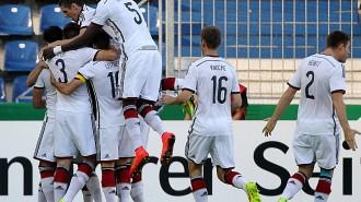 GER EM Qualifikation U21 Deutschland vs Rumänien 09 09 14 Magdeburg MDCC Arena GER EM Qualifik