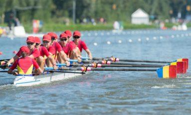 Locul 4 la Campionatele Mondiale de canotaj pentru barca feminină de 8 plus 1