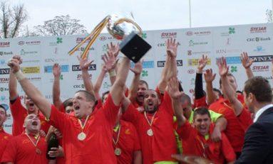 Știința CSM Baia Mare câștigă finala Superligii CEC Bank la rugby