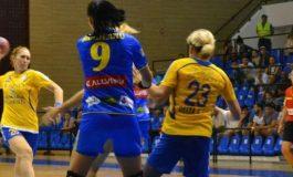 Handbal feminin: HCM Roman - Corona Brașov, la egalitate în Liga Naţională