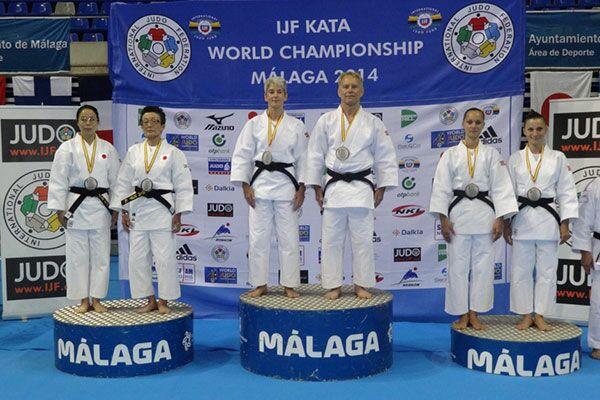 Argint și bronz pentru România la Mondialele de judo kata