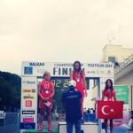Triatlon: O medalie de aur și două de argint pentru români la Campionatul Balcanic