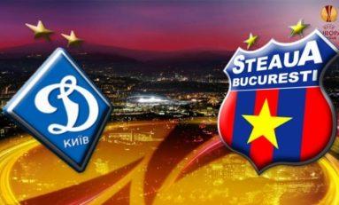 Steaua pierde la Kiev, în a treia deplasare din Ucraina