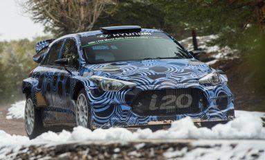 Hyundai Motorsport continuă dezvoltarea noii generaţii i20 WRC