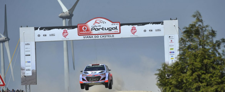 Start promițător pentru Hyundai Motorsport în Raliul Portugaliei