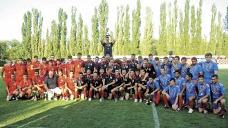 Echipele de juniori ale clubului Steaua, campioane nationale.