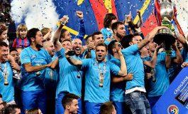 A 22-a Cupă a României pentru FC Steaua și al treilea trofeu cucerit anul acesta