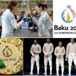 Aur pentru echipa feminină de spadă, argint cucerit de băieții de la sabie, înotătorul Robert Glință...