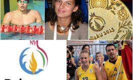Echipele de spadă feminin și sabie masculin, în finalele Jocurilor Europei. Înotătorul Robert Glință, semifinalist la 50 spate