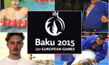 Doi judokani și trei înotători români, învinși la Jocurile Europei