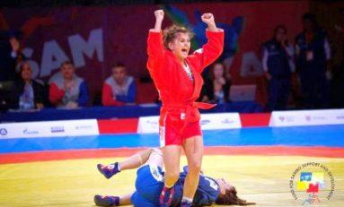 Daniela Hondiu câștigă bronzul categoriei 60 kilograme la sambo, la Jocurile Europei