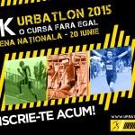 URBATLON 2015 - cursa cu 9 probe