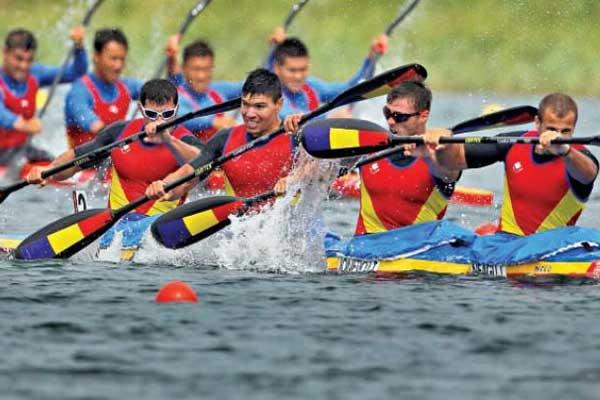 Trei arginturi și alte opt prezențe în finalele Mondialelor de kaiac-canoe juniori din Portugalia