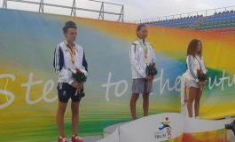 Înotătoarea Maria Claudia Gâdea aduce primul aur României la FOTE