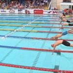 Trei victorii ale înotătorilor noștri la Internaționalele României de la noul bazin Dinamo