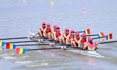 Trei ambarcațiuni românești în sferturile Mondialelor de canotaj. Fetele de la 8+1, în recalificări
