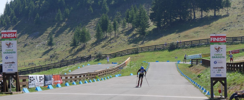 Locul 7 pentru George Buta în proba de sprint a Mondialelor de biatlon vară