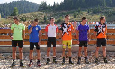 Doi biatloniști români în primii 10 la proba de urmărire seniori a Mondialelor de biatlon vară, de la Cheile Grădiștei