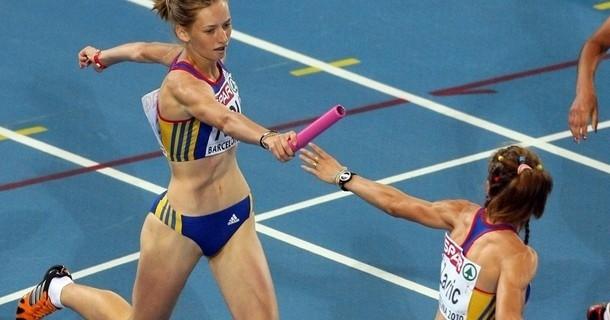 Ștafeta feminină de 4×100 ratează calificarea în finala mondială