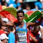 Prima surpriză la debutul Mondialelor-victoria maratonistului eritrean Ghebrselassie. Marius Ionescu...