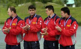 Aur mondial pentru canoea de 4 masculin a țării noastre